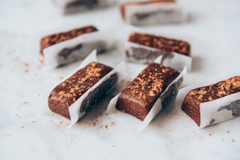 Bocaditos de cacao crudiveganos 2