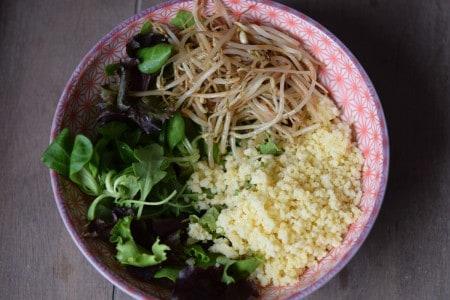Como hacer un Buddha Bowl - Paso 3