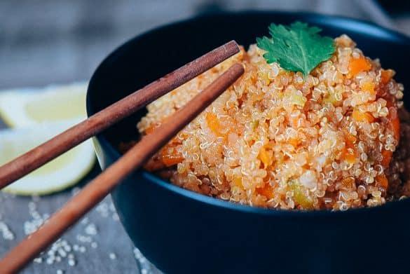 Quinoa con verduras