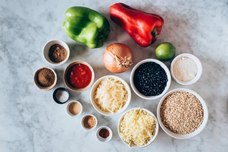 Ingredientes arroz mexicano