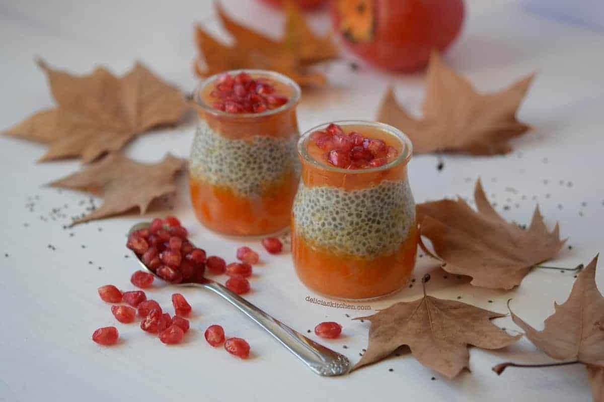 Pudding de chia otoñal 2