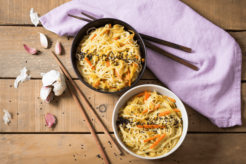 Noodles estilo asiatico 1