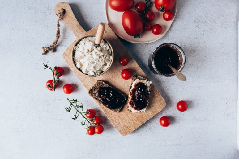 Mermelada de tomate y cook expert de Magimix_