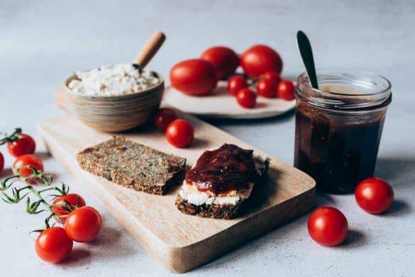 Mermelada de tomate y cook expert de magimix