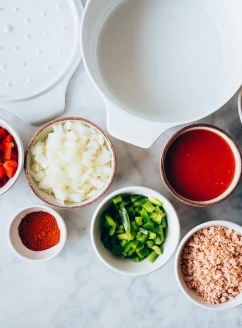 Chili vegano (sin carne)