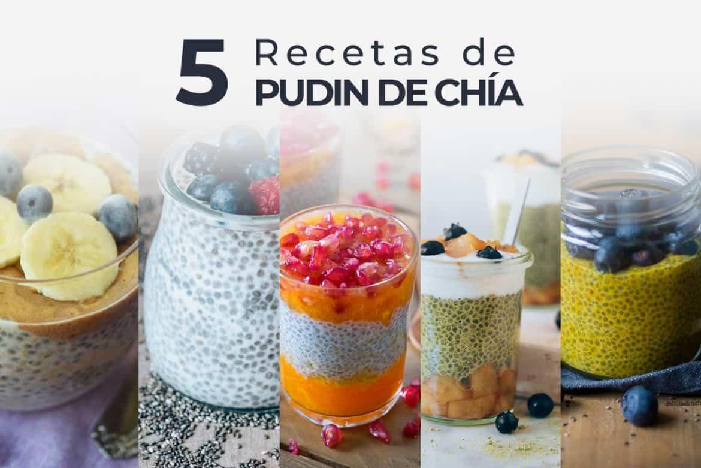 5 recetas de pudines de chía: el desayuno saludable!
