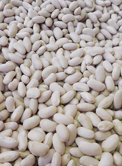Hummus de alubias blancas