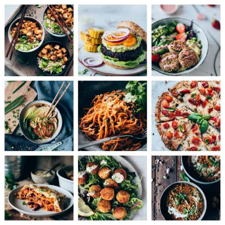 Platos principales y bowls libro Delicias Kitchen
