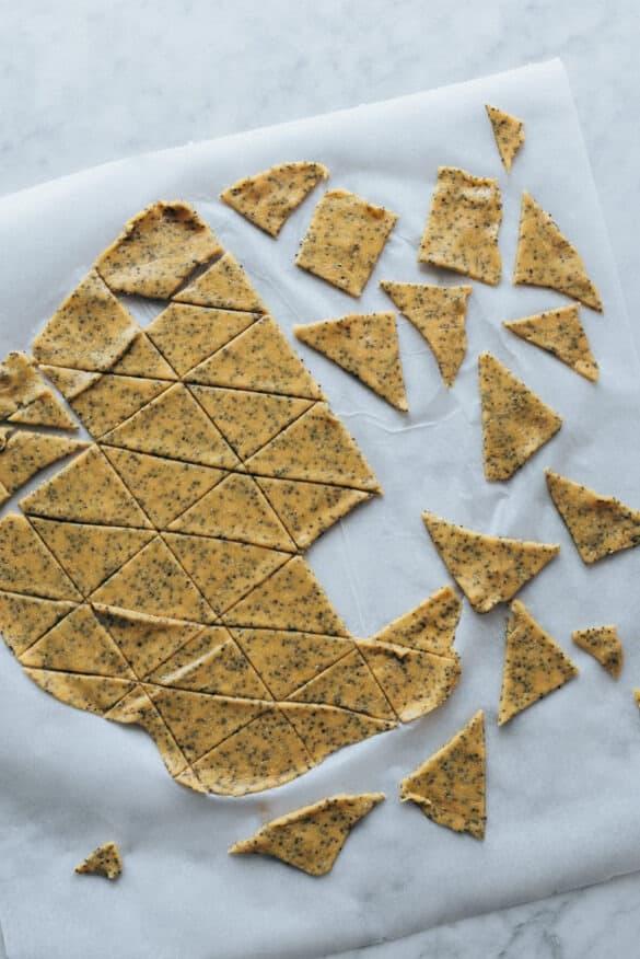 Receta de nachos al horno saludables