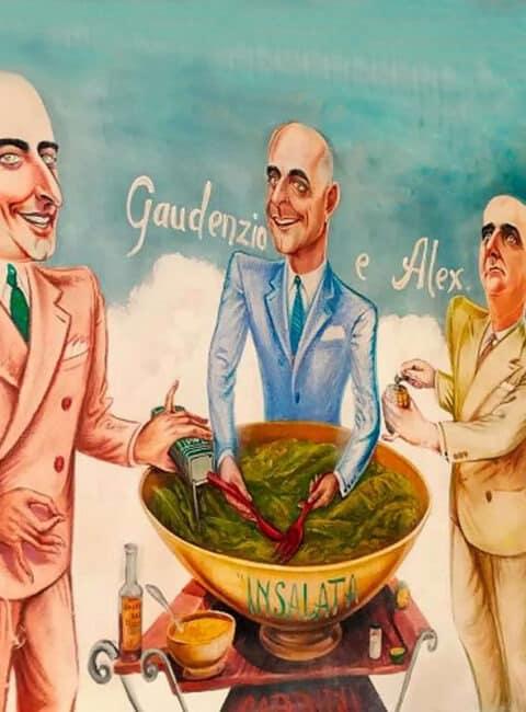 Ensalada César casera y vegana