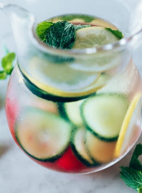 Como hacer aguas saborizadas